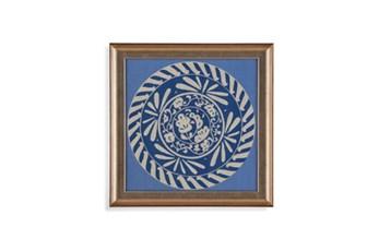 Picture-Indigo Medallion I