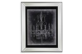 Picture-Mirror Framed Chandelier Sketch II