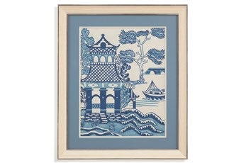 Picture-Blue Pagoda I
