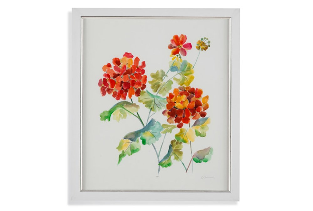 Picture-Orange Flowers I