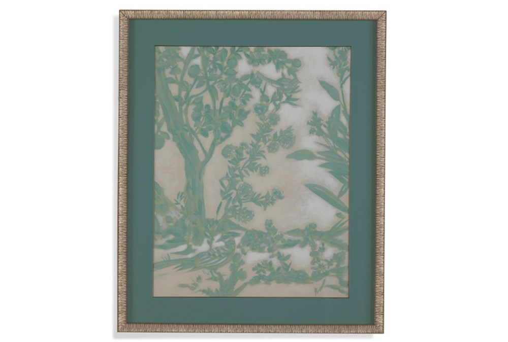 Picture-Green Chinoserie II