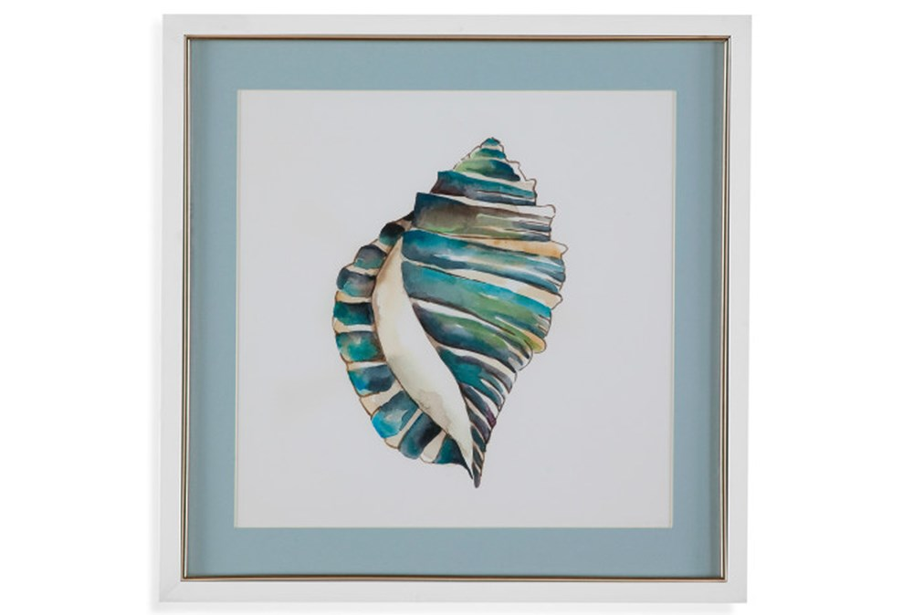 Picture-Aqua Shell I