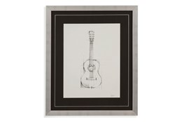 Picture-Guitar Drawing
