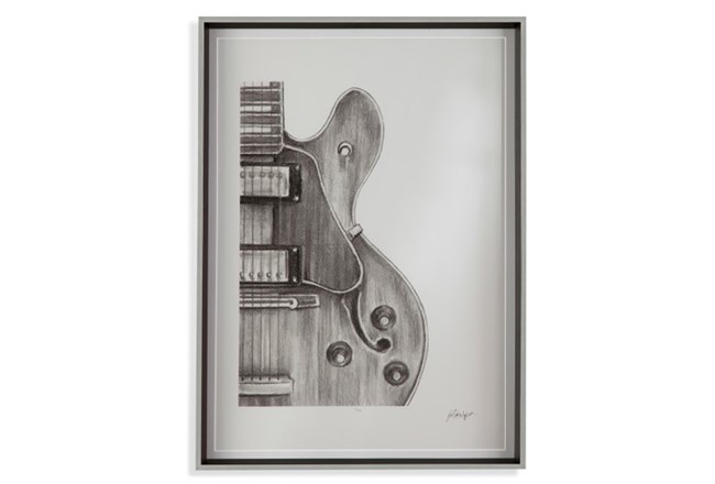 Picture-Guitar Sketch II - 360
