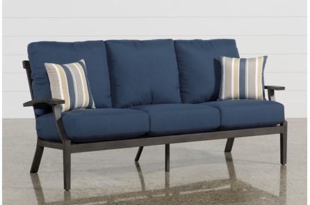 Outdoor Martinique Navy Sofa