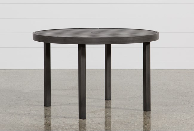 Outdoor Martinique Round Dining Table - 360