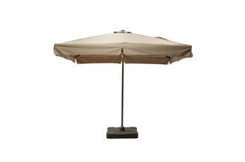 Outdoor Cantilever Coffee Umbrella W/Base