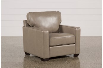 Redford Mushroom Leather Chair