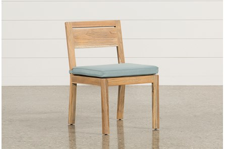 Outdoor Antigua Teak Armless Dining Chair