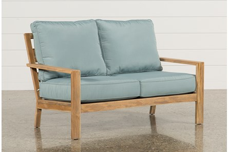 Outdoor Antigua Teak Loveseat