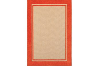 94X130 Outdoor Rug-Mandarin Double Border