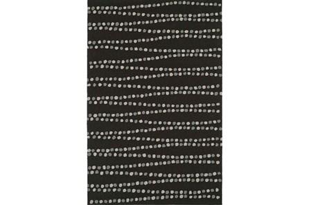 42X66 Rug-Black Strands