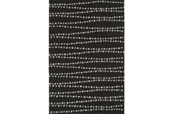 96X120 Rug-Black Strands