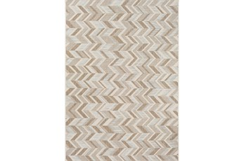 63X91 Outdoor Rug-Baltic Blue Herrringbone
