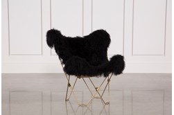 Butterfly Black Chair