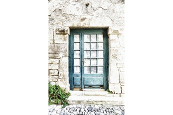 Picture-Blue Door
