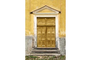 Picture-Yellow Door