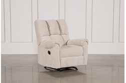 Sloan Light Grey Rocker Recliner