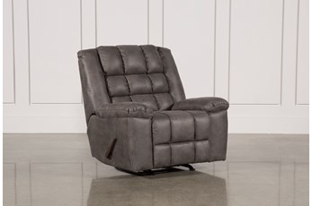 Shay Grey Rocker Recliner