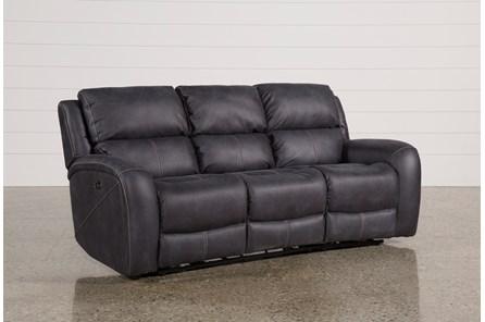 Deegan Charcoal Power Reclining Sofa