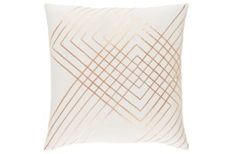 Accent Pillow-Intersecting Lines Cream 20X20