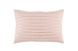 Accent Pillow-Linear Blush 19X13