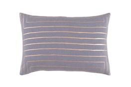 Accent Pillow-Linear Grey 19X13