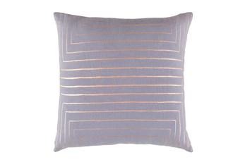Accent Pillow-Linear Grey 18X18