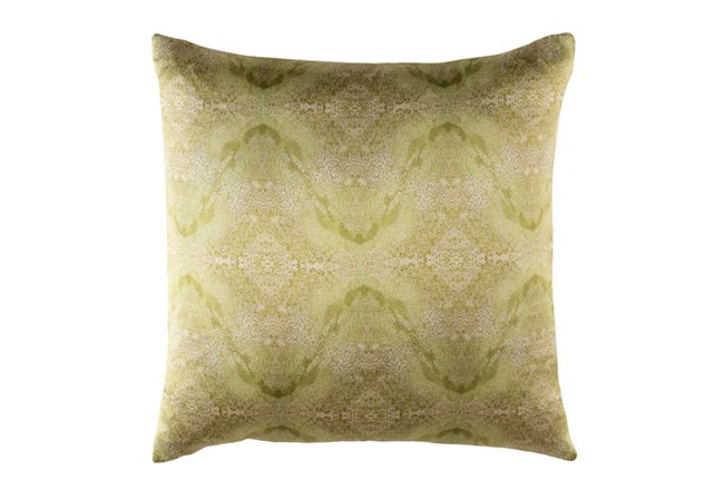 Accent Pillow-Tandy Watercolor Dark Green 18X18 - 360