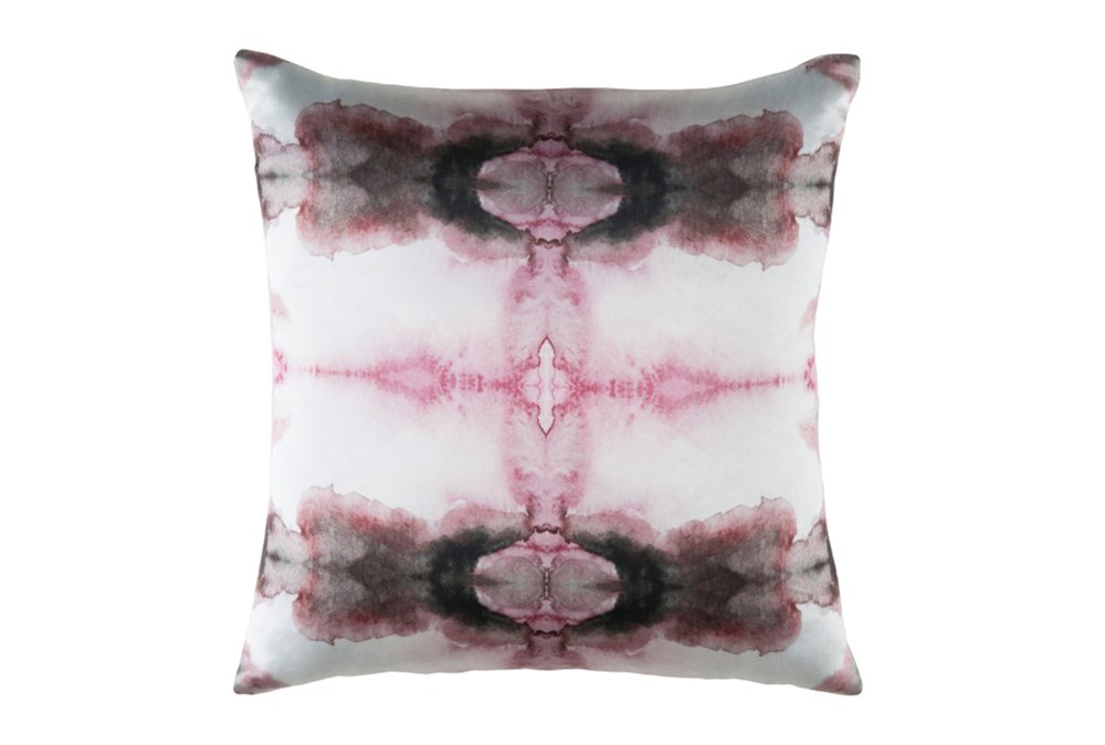 Accent Pillow-Kelsey Watercolor Pink 18X18