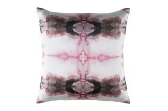 Accent Pillow-Kelsey Watercolor Pink 22X22