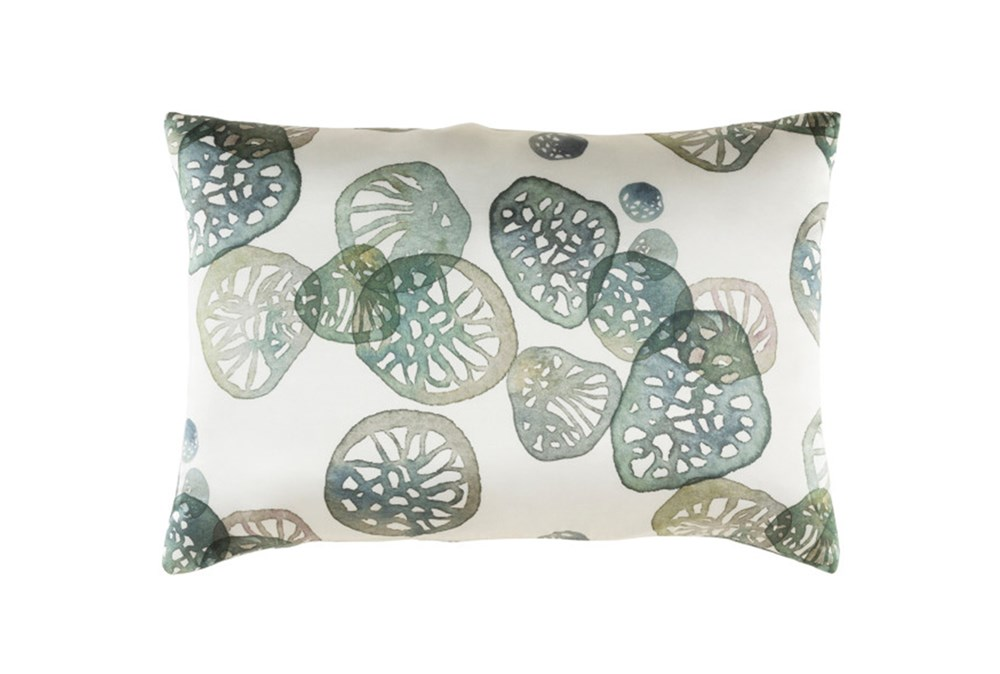 Accent Pillow-Watercolor Pod Green 19X13