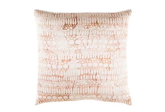 Accent Pillow-Watercolor Bubbles Orange 20X20 - 360