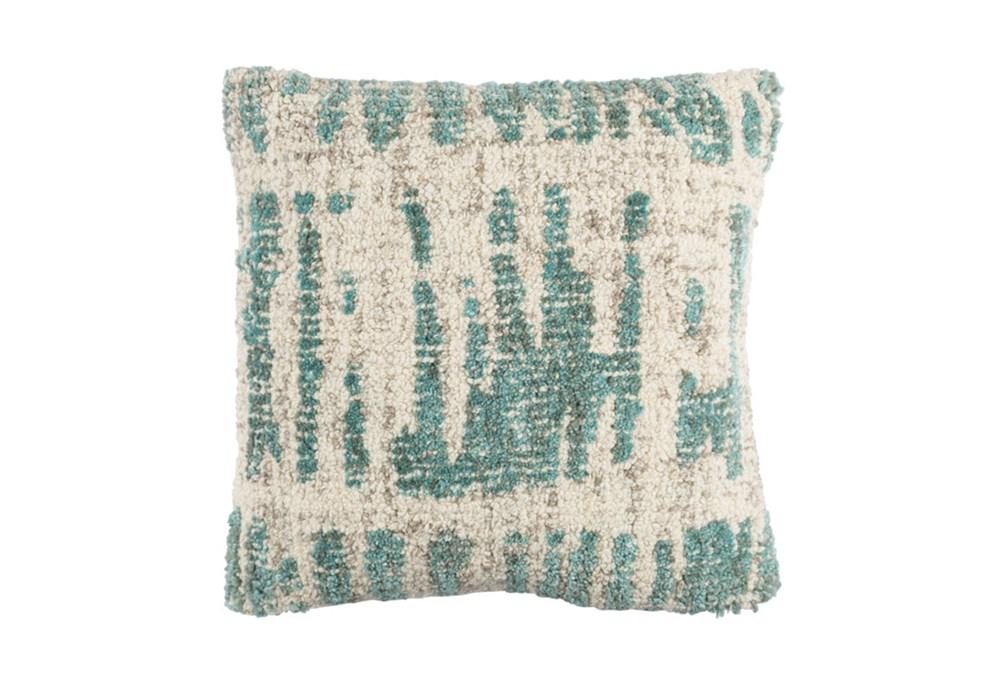 Accent Pillow-Aged Boucle Mint 20X20