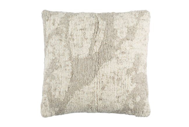 Accent Pillow-Washed Boucle Grey 20X20 - 360