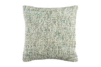 Accent Pillow-Stripe Boucle Mint 20X20