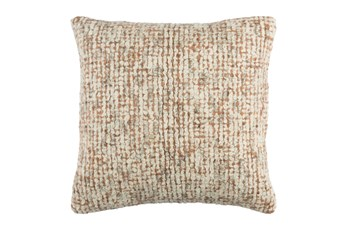 Accent Pillow-Stripe Boucle Orange 20X20