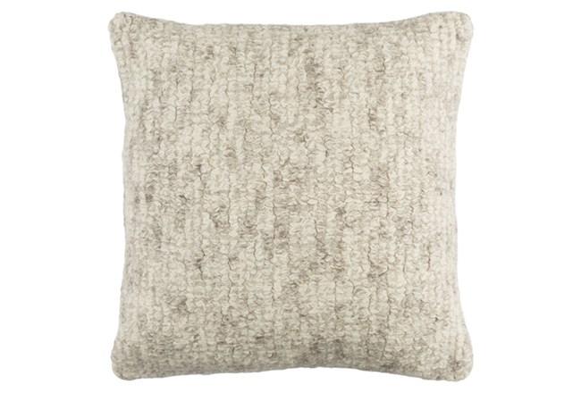 Accent Pillow-Stripe Boucle Grey 20X20 - 360