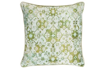 Accent Pillow-Kiwi Lace Medallion 20X20