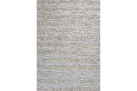 96X120 Rug-Heather Stripe Ivory