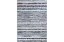 63X91 Rug-Wesley Stripe Blue
