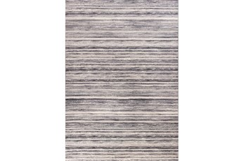 63X91 Rug-Wesley Stripe Grey