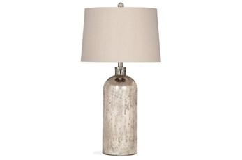 Table Lamp-Mercury Glass Jug