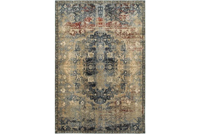 63X90 Rug-Merick Washed Spice - 360