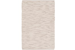 48X72 Rug-Cotton Striations Grey