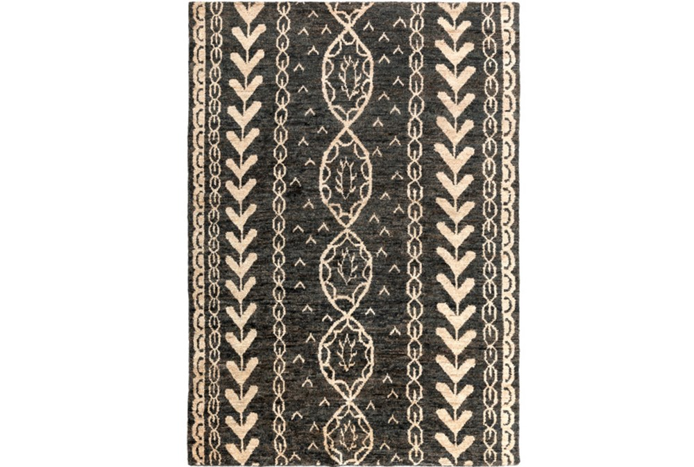 96X132 Rug-Natuk Dark Brown