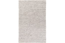 48X72 Rug-Leather And Cotton Grid Teal