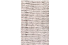 60X90 Rug-Leather And Cotton Grid Brown