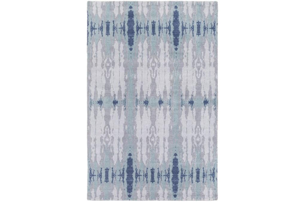 96X132 Rug-Azura Blue/Grey