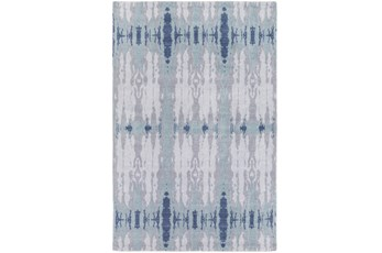 96X132 Rug-Azura Blue/Grey